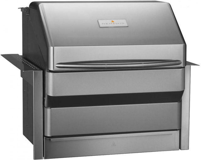 Memphis Wood Fire Grills Pro Built In Grill-Stainless Steel-VGB0001S