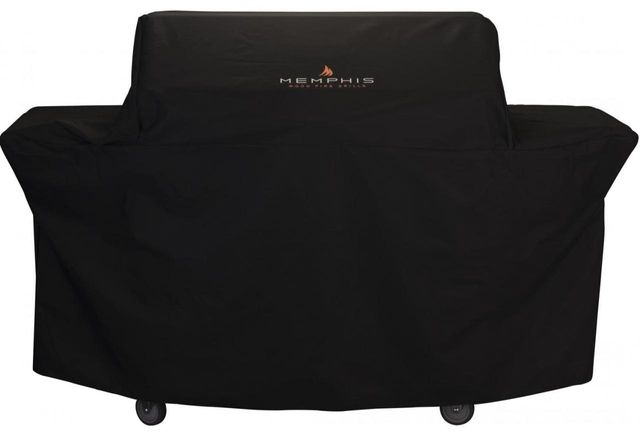 Memphis Wood Fire Grills Elite Series Grill Cart Cover-Black-VGCOVER-5