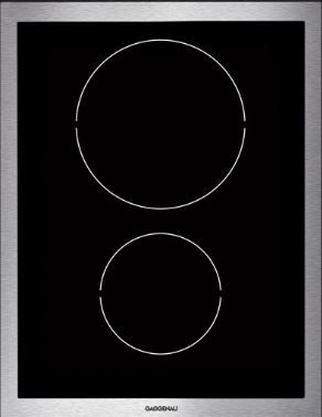 "Gagenau Vario 400 Series 15"" Modular Induction Cooktop-VI424610"