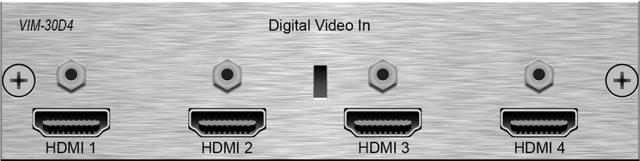 Savant® Digital Video Input Module-VIM-30D4-06
