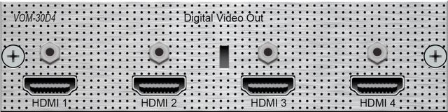 Savant® Digital Video Output Module-VOM-30D4-10