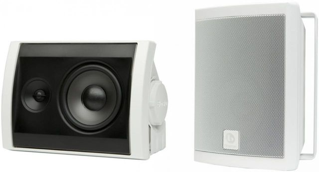 Boston Acoustics® Voyager 40 White 2-way High Performance Outdoor Speakers-VOYA40W-0XX00