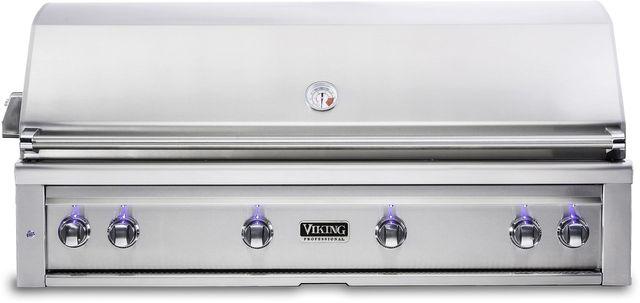 "Viking® Professional 5 Series 54"" Built-In Grill-Stainless Steel-VQGI5540LSS"