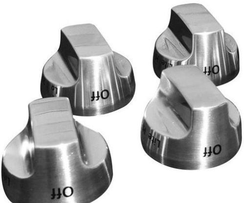 KitchenAid Stainless Steel Knob Kit - 4 Burner-W10231702
