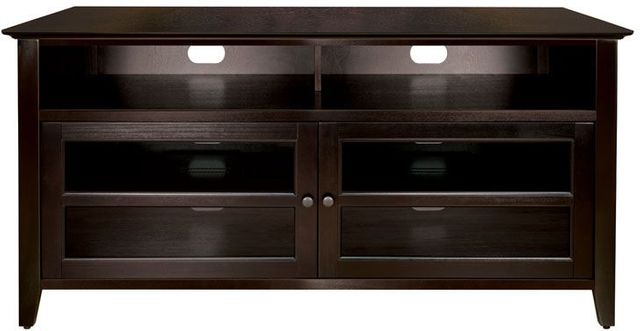 Bell'O® Dark Espresso Audio/Video Cabinet-WAVS99152