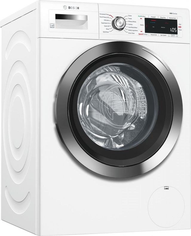 Bosch 800 Series Front Load Compact Washer-White-WAW285H2UC