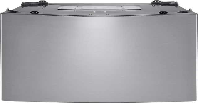 """LG SideKick™ 27"""" Graphite Steel Pedestal Washer-WD100CV"""