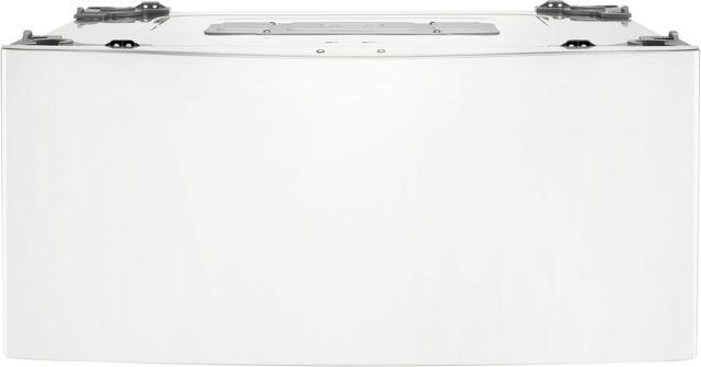 "LG SideKick™ 27"" White Pedestal Washer-WD100CW"
