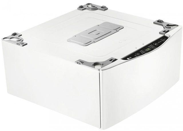 "LG 27"" SideKick™ Pedestal Washer-White-WD200CW"