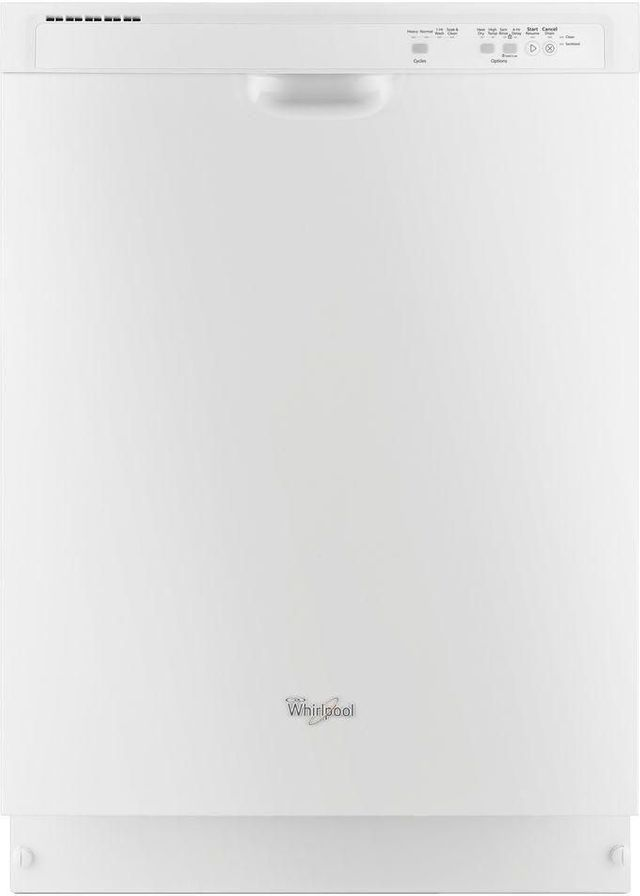 "Whirlpool® 24"" Built In Dishwasher-White-WDF520PADW"