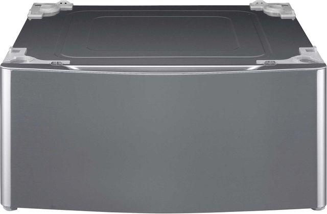 "LG 27"" Graphite Steel Laundry Pedestal-WDP4V"