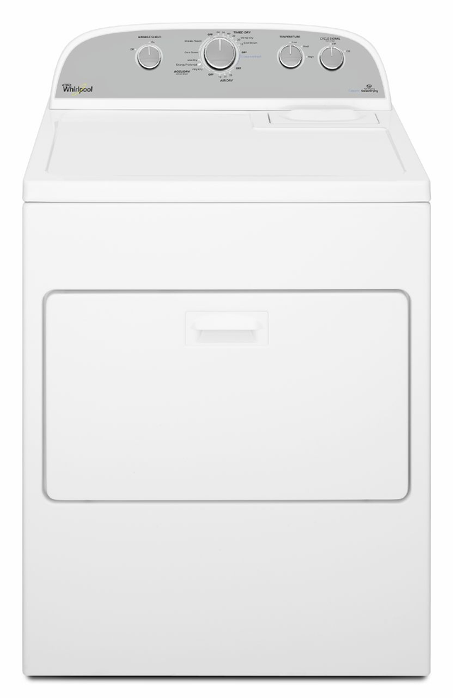 Whirlpool® 7.0 Cu. Ft. White Front Load Electric Dryer-WED49STBW