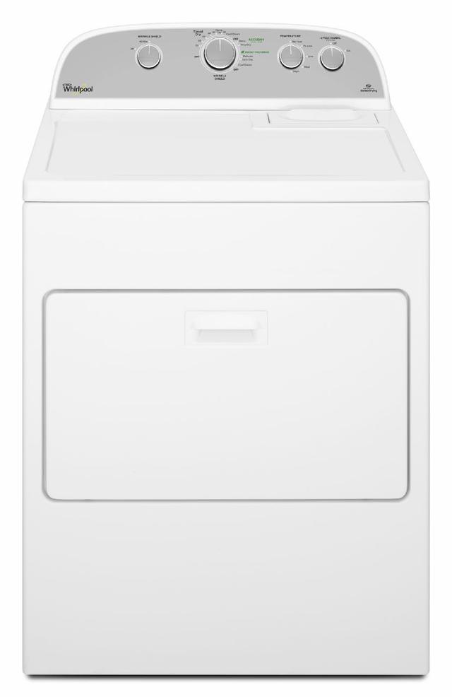 Whirlpool® Cabrio® Gas Dryer-White-WGD5000DW