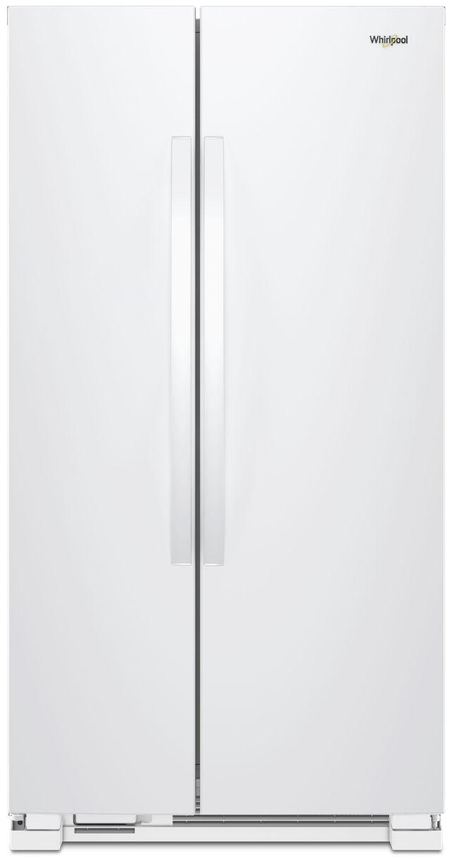 Réfrigérateur côte-à-côte de 34 po Whirlpool® de 21,7 pi³ - Blanc-WRS312SNHW