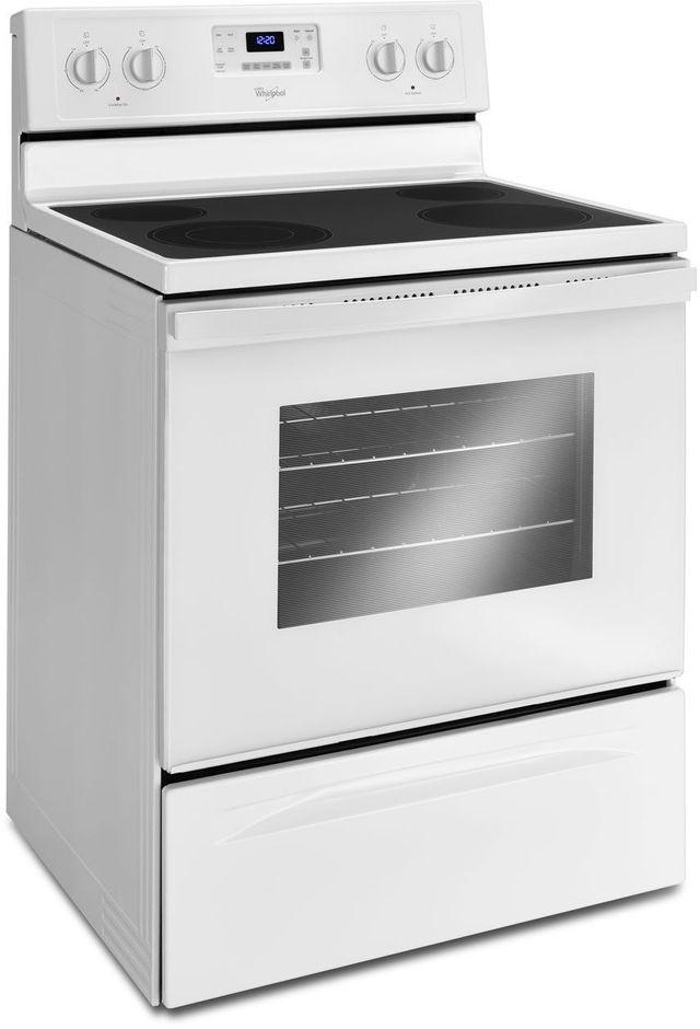 "Whirlpool® 30"" Freestanding Electric Range-WhiteCLEARANCE-WFE515S0EW-"