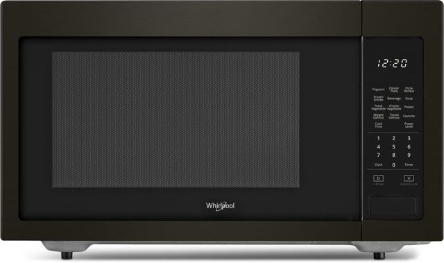 Whirlpool® Countertop Microwave-Fingerprint Resistant Black Stainless Steel-WMC30516HV
