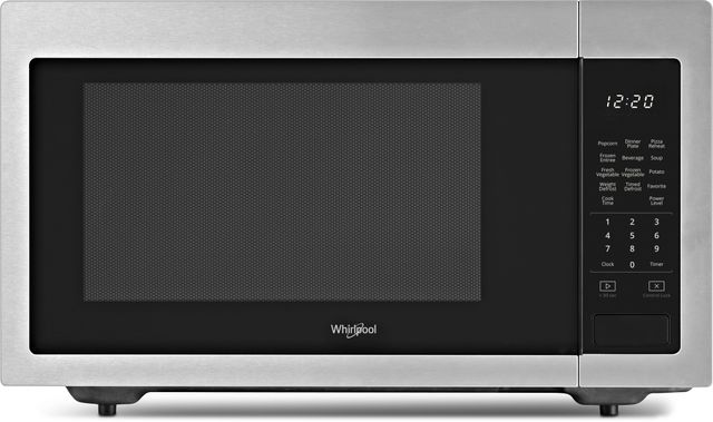 Whirlpool® Countertop Microwave-Fingerprint Resistant Stainless Steel-WMC30516HZ-25-0825