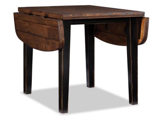 Intercon Winchester Drop Leaf Dining Table-WN-TA-3650D-BHN-C
