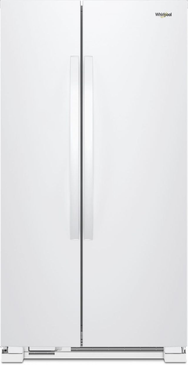 Whirlpool® 25.1 Cu. Ft. Side-By-Side Refrigerator-White-WRS315SNHW