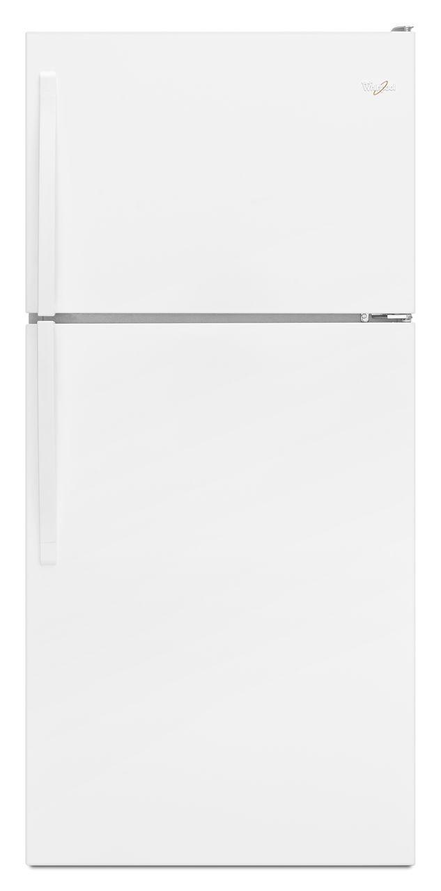 Whirlpool® 18.2 Cu. Ft. Top Freezer Refrigerator-White-WRT318FMDW
