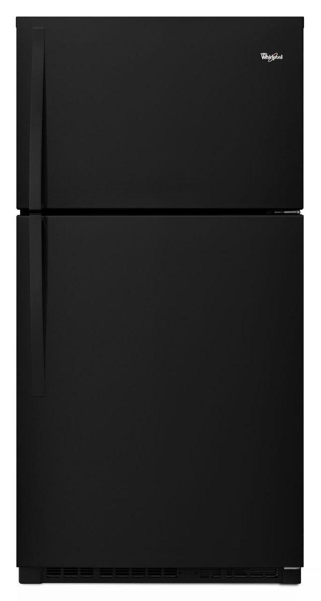 Whirlpool® 21.3 Cu. Ft. Top Freezer Refrigerator-Black-WRT511SZDB