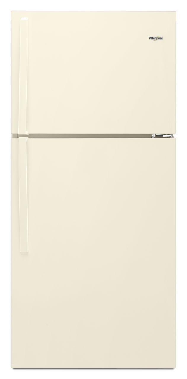 Whirlpool® 19.2 Cu. Ft. Top Freezer Refrigerator-Biscuit-WRT519SZDT