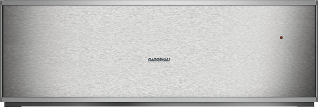 """Gaggenau 400 Series 24"""" Warming Drawer-Stainless Steel-WS463710"""