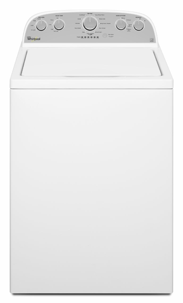 Whirlpool® 5.0 Cu. Ft. High Efficiency Top Load Washer-White-WTW5000DW