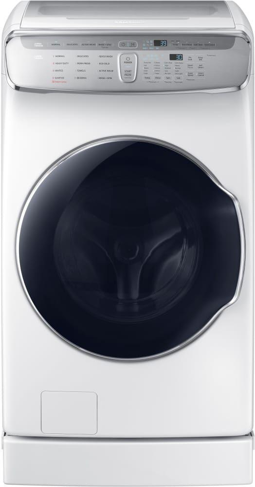 Samsung FlexWash™ 6.0 Cu. Ft. White Front Load Washer-WV60M9900AW