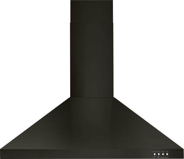 "Whirlpool® 30"" Black Stainless Steel Wall Mount Range Hood-WVW53UC0HV"