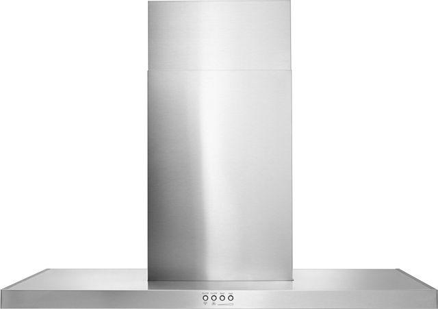 "KitchenAid® 36"" Stainless Steel Wall Mount Flat Range Hood-WVW57UC6FS"