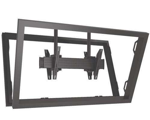 Chief® Professional AV Solutions Black Fusion™ X-Large Flat Panel Ceiling Mount-XCB7000