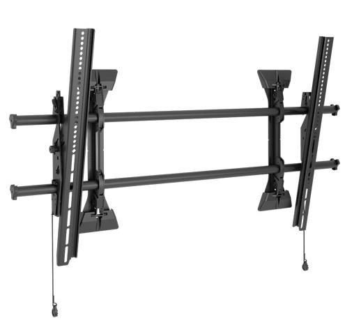 Chief® Professional AV Solutions Black Fusion™ X-Large Tilt Wall Mount-XTM1U