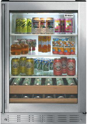Monogram® 5.5 Cu. Ft. Beverage Center-ZDBC240NBS