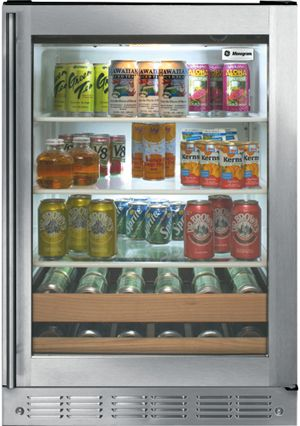 Monogram® 5.5 Cu. Ft. Beverage Center-ZDBR240PBS