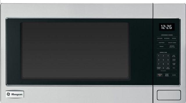 GE® Monogram® Countertop Microwave-Stainless Steel-ZEB1226SHSS