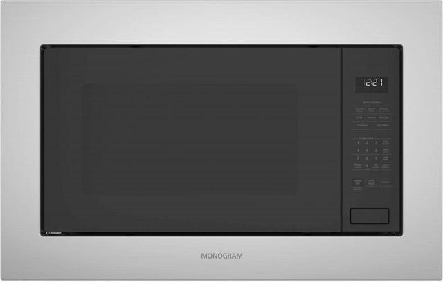 Monogram® Built-In Microwave Oven-Black-ZEB1227SLSS