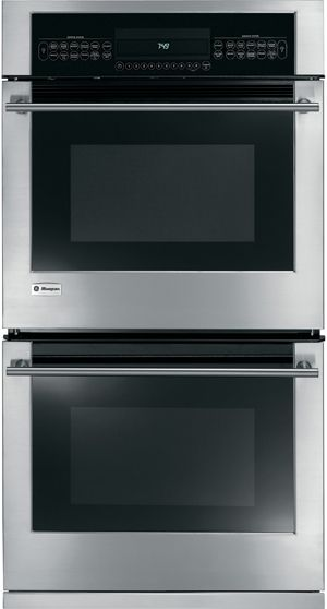 """Monogram® 27"""" Electric Double Oven Built In-Stainless Steel-ZEK958SMSS"""
