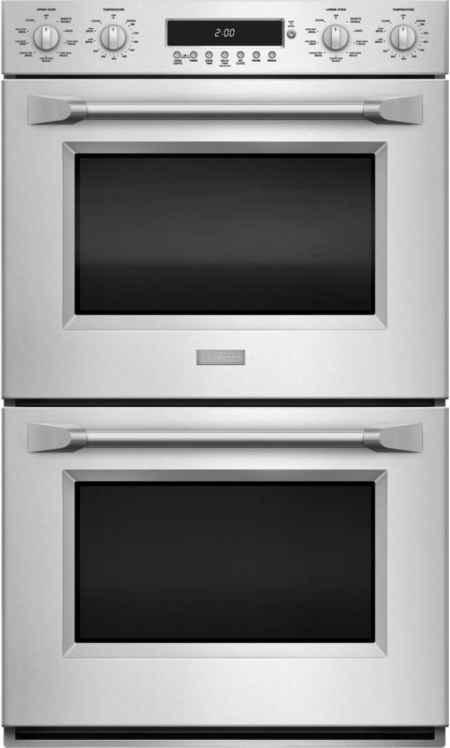 """Monogram® 30"""" Professional Electronic Convection Double Wall Oven-Stainless Steel-ZET2PHSS"""