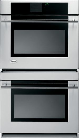 """Monogram® 30"""" Electric Double Oven Built In-Stainless Steel-ZET2RMSS"""