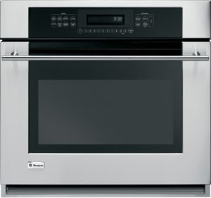 """Monogram® 30"""" Electric Single Oven Built In-Stainless Steel-ZET938SMSS"""
