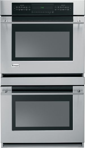 """Monogram® 30"""" Electric Double Oven Built In-Stainless Steel-ZET958SMSS"""