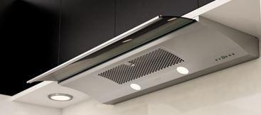 "Zephyr Essentials Europa Genova 30"" Under Cabinet Hood-Stainless Steel-ZGE-E30AS"