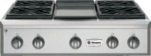 "Monogram® 36"" Professional Liquid Propane Rangetop-Stainless Steel-ZGU364LDPSS"
