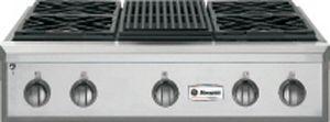 "Monogram® 36"" Professional Gas Rangetop-Stainless Steel-ZGU364NRPSS"