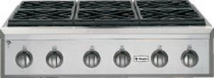 "Monogram® 36"" Professional Liquid Propane Rangetop-Stainless Steel-ZGU366LPSS"