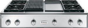 "Monogram® 48"" Professional Liquid Propane Rangetop-Stainless Steel-ZGU484LGPSS"