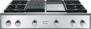 "Monogram® 48"" Professional Gas Rangetop-Stainless Steel-ZGU484NGPSS"