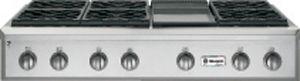 "Monogram® 48"" Professional Liquid Propane Rangetop-Stainless Steel-ZGU486LDPSS"