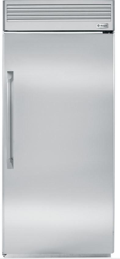 GE® Monogram® Professional 22 Cu. Ft. Built-In All Freezer-Stainless Steel-ZIFP360NHRH